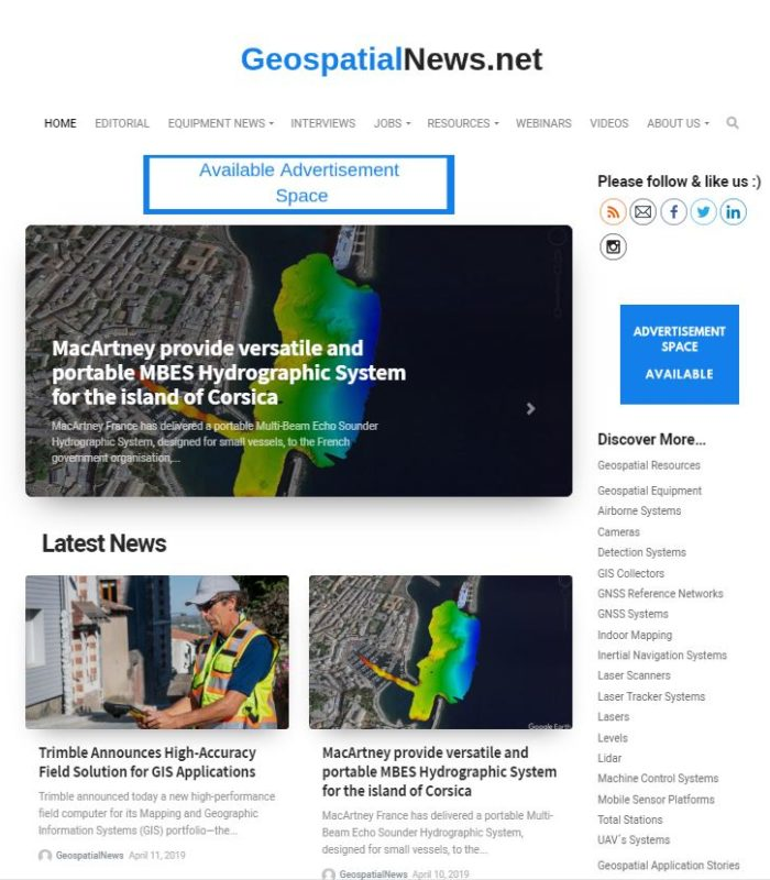 Geospatialnews